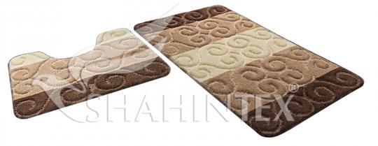 Набор ковриков для ванной Shahintex PP MIX 4К